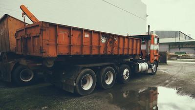 Bloch Steel - Refuse Truck Photography