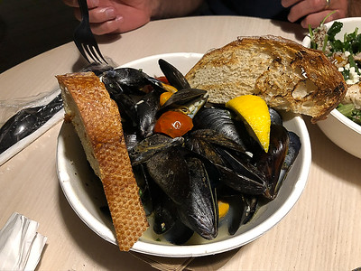 Mussels at The Beach House