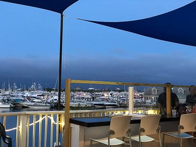 View at dinner at the BI Oyster Bar