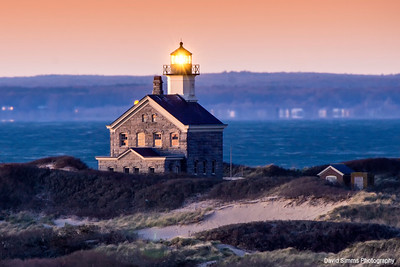 North Light at Sunset
