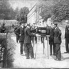 Blockley, England, 1924 funeral