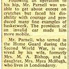 Herbert Parnell, Paxford, England