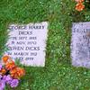 George Harry Dicks and Olwen Dicks, Blockley, England
