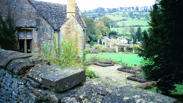 View from Manor House, Blockley, England