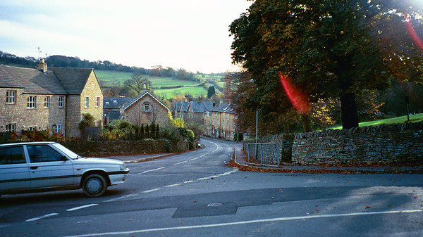 Station Road and Lower St, Blockley, England