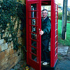 Station Road, Blockley, England<br /> <br /> Phone Booth, 1999, Station Road, Blockley, England<br /> <br /> Photo by Lucy McCoy, Nov 1999; added with description Mar 14, 09, Blockley site, MyFamily.com<br /> <br /> (photo file name:  050)