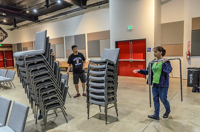 Saddleback Irvine South Blocktober setup  - photo by Allen Siu 2015-10-28