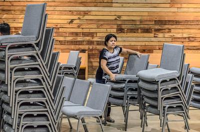Saddleback Irvine South Blocktober setup  - photo by Allen Siu 2015-10-28