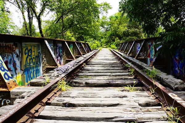 Cottonwood Creek Railroad Bridge