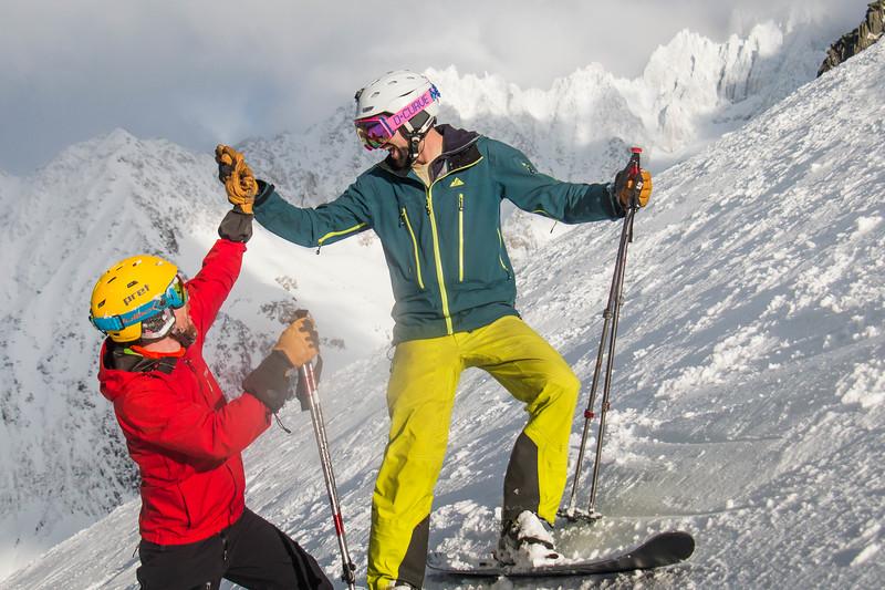 Grand Montets Skiing!