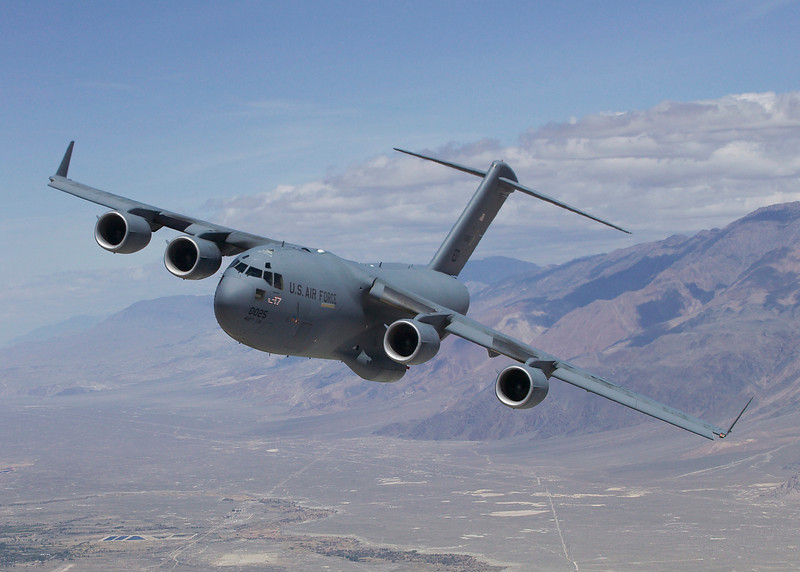 Edwards welcomes back Air Force's first C-17