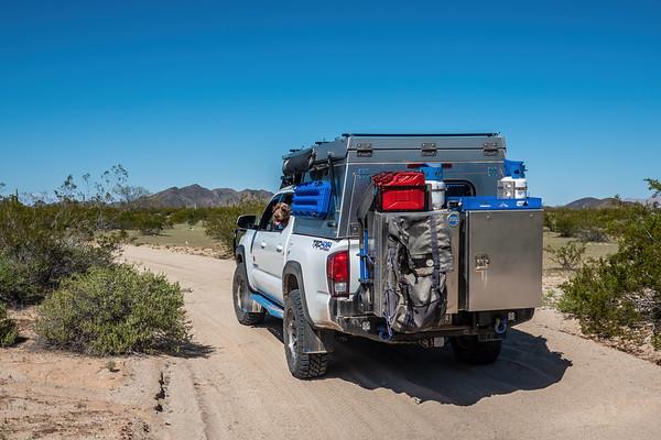 El Camino Del Diablo, Barry Goldwater Range & Cabeza Prieta, Yuma County Arizona USA