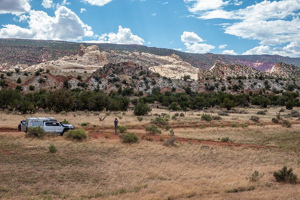 Tacoma Along Burr Trail, Escalante Grand-staircase national Monument, Garfield County Utah USA