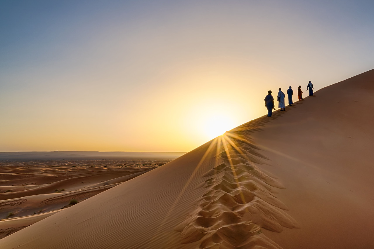Andy Yee - Erg Chebbi Dunes in the Sahara Desert of Morocco