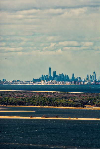 NYC from Navesink Twin Lights
