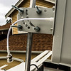 Yagi antenna pole mount
