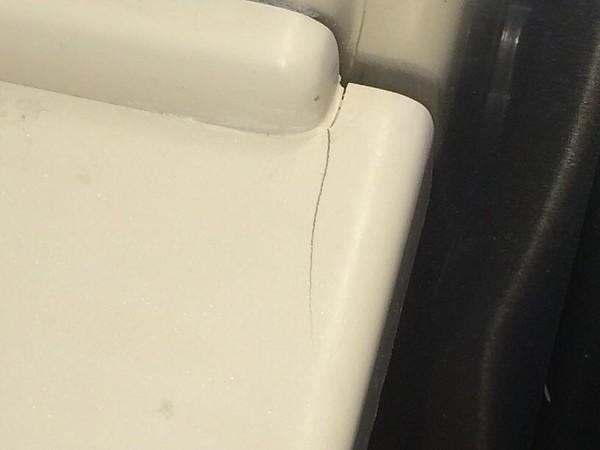Cracked Corian