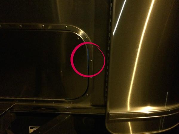 Leaky Front Compartment Door