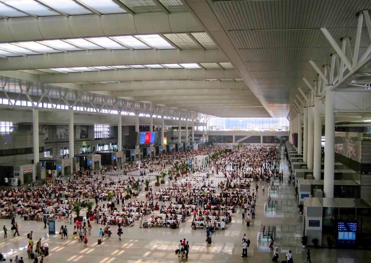 IntentionallyLost.com Hongquiao Railway Station in Shanghai