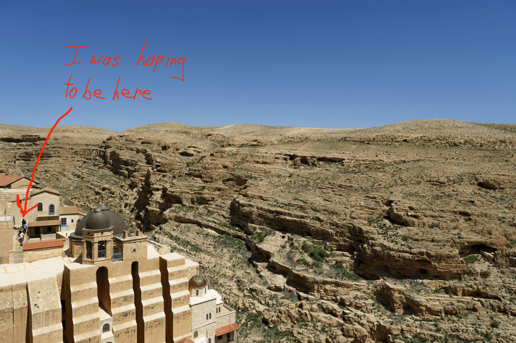 Location Planning - Mar Saba Monastery