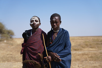 Masai Boys, Serengeti National Park