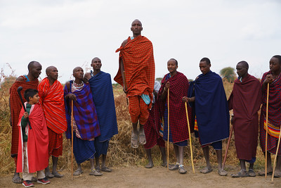 Masai Men, Tanzania