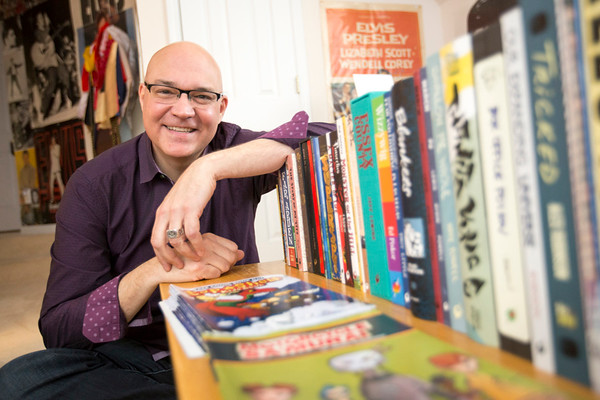 Chris Staros is Editor-in-Chief of 20 year-old, Marietta-based comic book publishing company Top Shelf Productions.