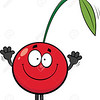 Smiling Cartoon Cherry