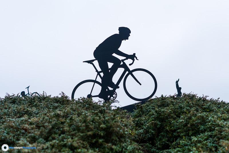 World Cup cyclocross race course infection in Hoogerheide, Netherlands