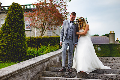 Clare & Nathan - Wedding day at the Palmerstown House Estate