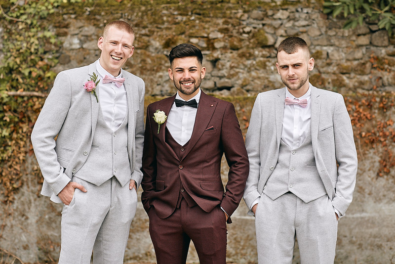 Wedding photographs from a wedding at the Johnstown Estate in Enfield, County Meath