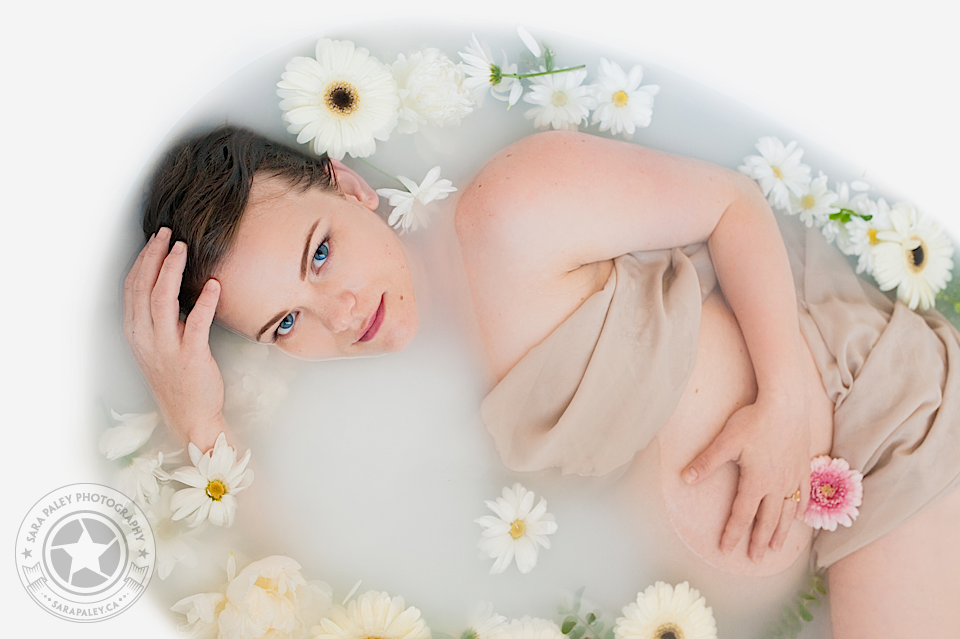 maternity milk bath #milkbath @sarapaleyphoto