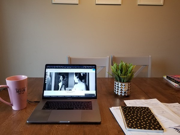 Working on our brand new website! Designed by Erica Lewis. Can't wait to share with you all!!