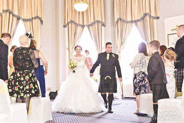 Cheryl & Craig - Queens Hotel Dundee - Wedding Photography - S.R. Wood Photography