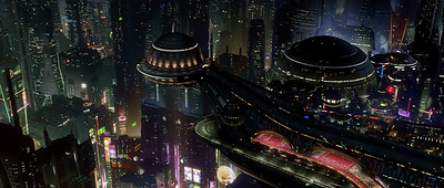 Coruscant, the city planet from Star Wars