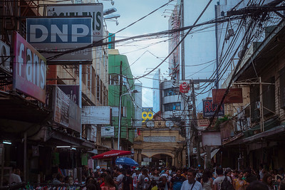 Personally, I'm a frequent customer of Quiapo's market streets.