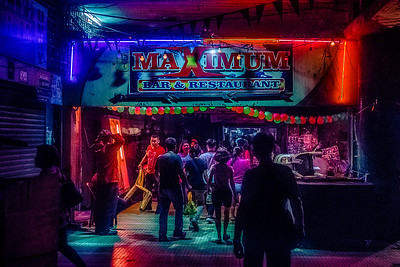 Japan and Hong Kong may have alleys with neon signs, but Manila's own version is these dark arcades that run underneath buildings.