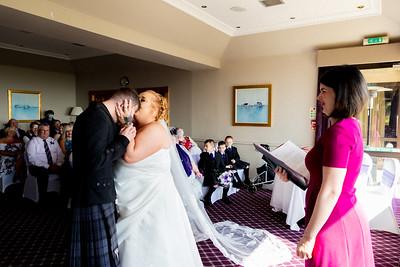 Howard-Davis Wedding Photography - The Old Manor Hotel, Lundin Links, Fife