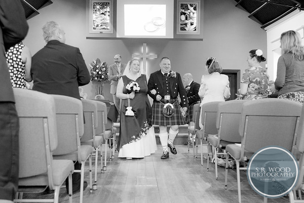 Jude & Darren - Falkirk - Wedding Photography - S.R. Wood Photography