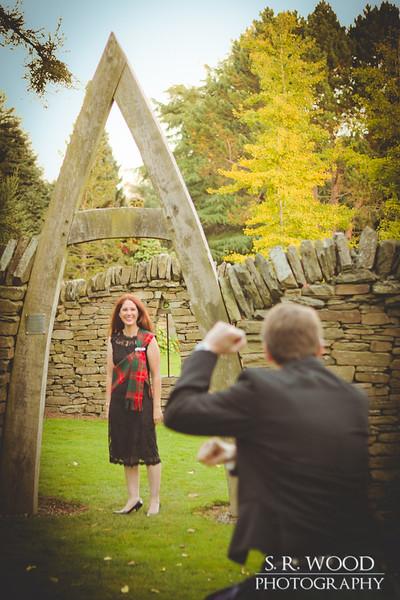 Laine & Scott Portrait Photography - Botanic Gardens, Dundee