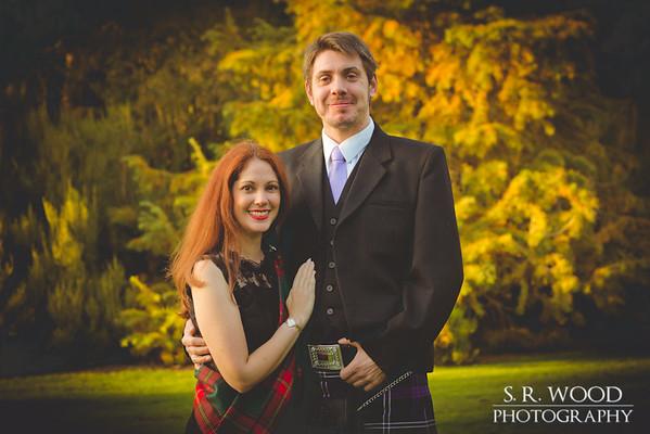 Laine & Scott - Dundee Botanic Gardens - Lifestyle Photography - S.R. Wood Photography