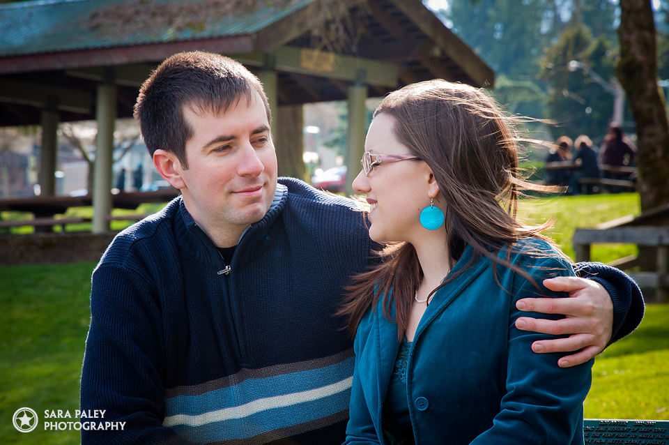 Deep Cove, North Vancouver couples engagement photos