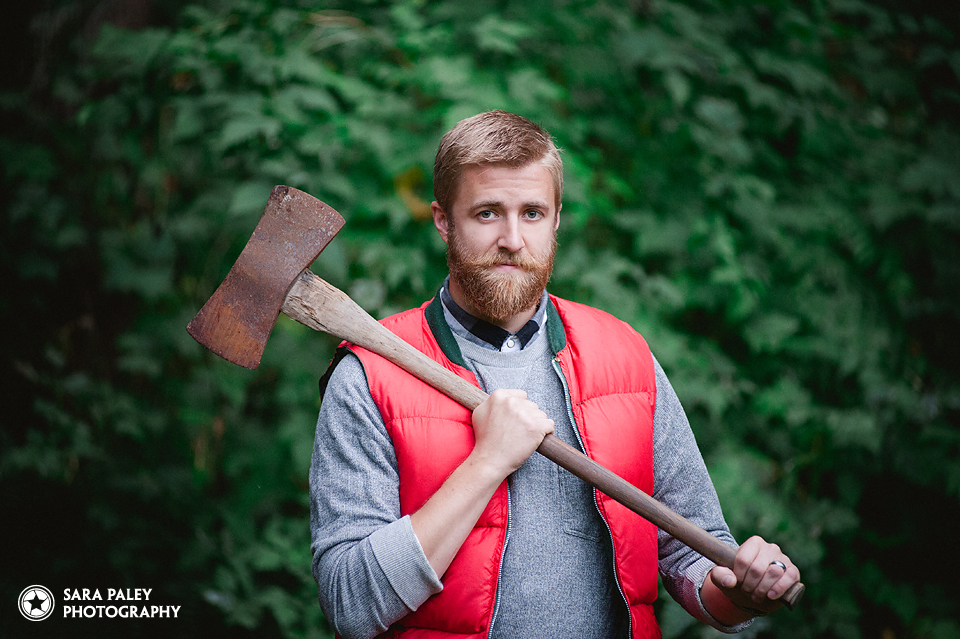beard, bearded man, lumbersexual, portrait photography, north vancouver photographer, sara paley photography, lifestyle photography, vancouver, bc