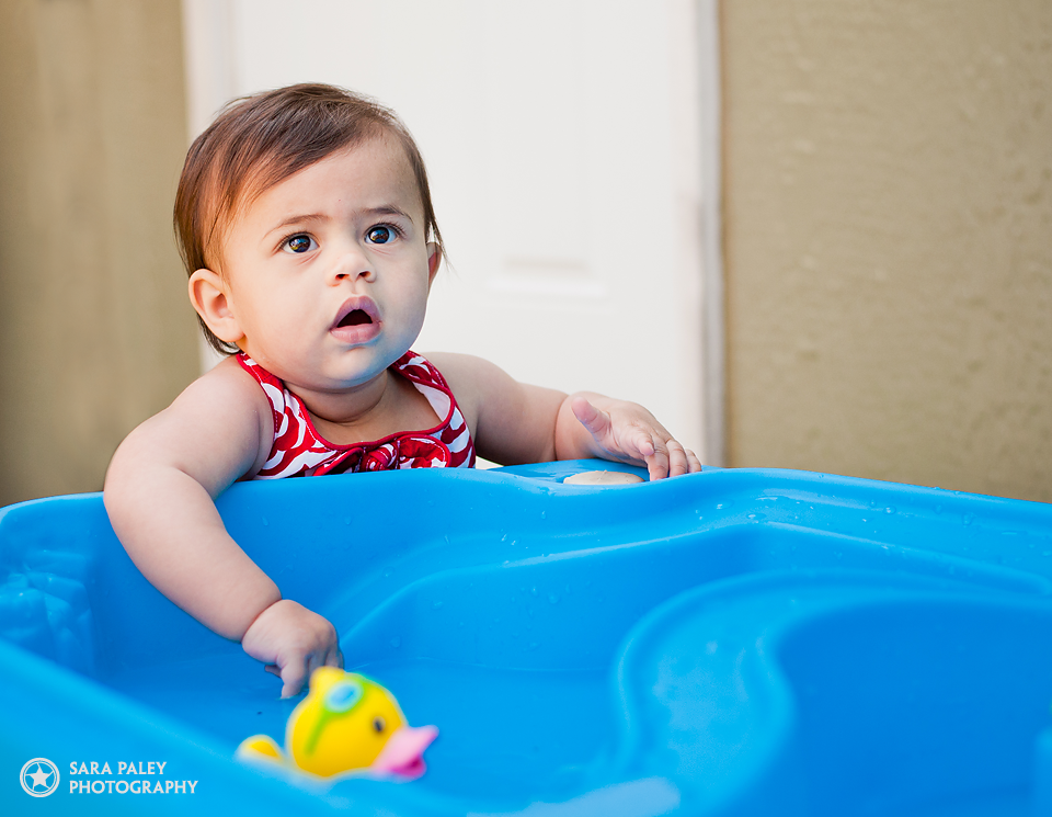 baby, mission, bc, portrait, water table, photography