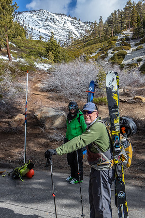 Rifle Peak Backcountry Skiing