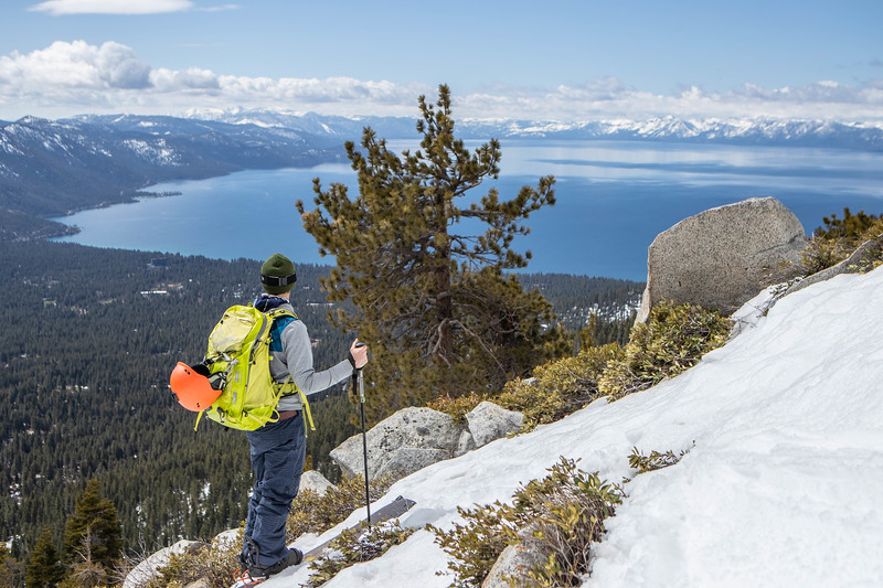 Splitboarding Lake Tahoe Backcountry