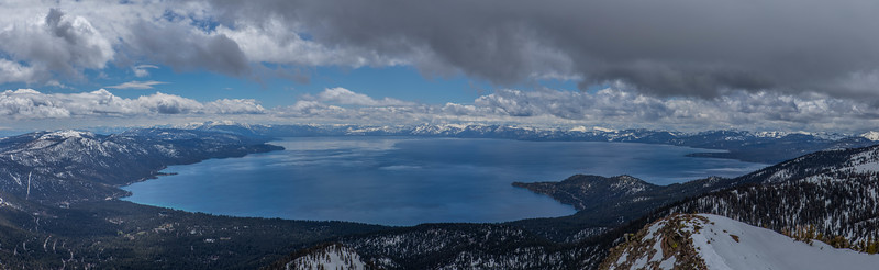 Lake Tahoe Panoramic Photo