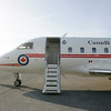 The Challenger Jet. On April 16, 2008 I went on 36 hour trip to the North Pole with the Minister of Natural Resources Canada. This is the Challenger jet we used to get to our first stop in the Arctic, Iqaluit.