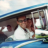 From 2005. Carlos (C) and Doug (L) near Matanzas, Cuba in a 1950's Pontiac.