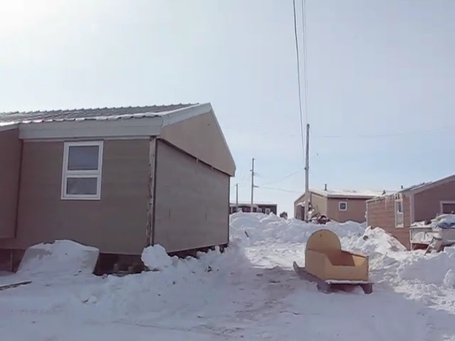 A video of the Inuit village, Hall Beach, Nunavut.